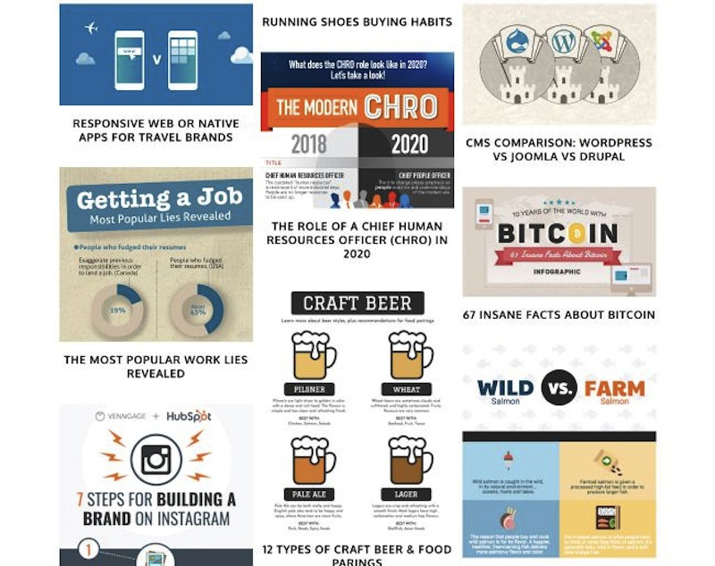 Fazer infográficos é uma habilidade muito útil para quem ganha trabalha com Marketing de Conteúdo. O único problema é que se você não é designer, criar infográficos pode não ser uma tarefa tão simples.A Menina Digital lista aqui16 ferramentas online para criar infográficos incríveis. Algumas das opções aqui são adequadas para não-designers, pois os modelos e outros recursos são mais fáceis de usar. Escolha a sua favorita! ➤ Marketing de Conteúdo, Redes Sociais, Content Marketing, Social Media, Tendências 2019, Inteligência Artificial, Estratégias Online, Estratégias Digitais, Gadgets