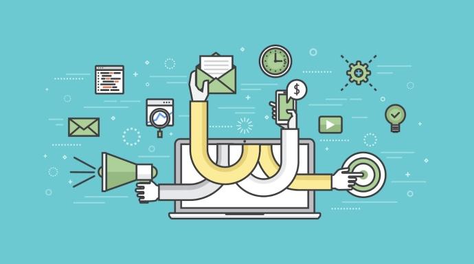 """A ideia """"clássica"""" de marketing de conteúdo - criar artigos focados em SEO, classificar por centenas de palavras-chave, gerar visitantes, leads e clientes pagantes - não funciona em todos os setores. O conteúdo, incluindo artigos, guias e estudos de caso, ainda pode gerar clientes em potencial e clientes de forma consistente - você só precisa abordar a distribuição de um ângulo diferente. Confira essas 5 estratégias de Marketing de Conteúdo para negócios B2B! ➤ Marketing de Conteúdo, Redes Sociais, Content Marketing, Social Media, Tendências 2019, Inteligência Artificial, Estratégias Online, Estratégias Digitais, Gadgets"""