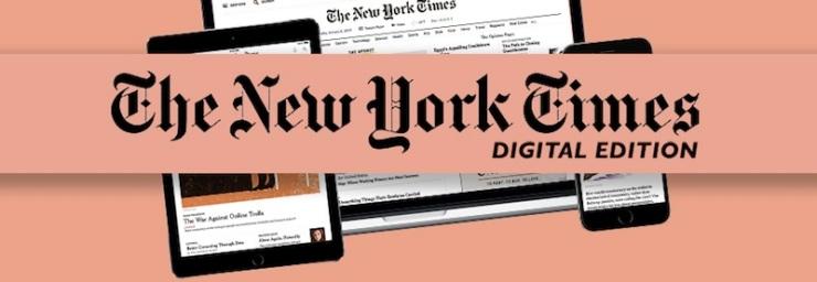 NY Times Usa Inteligência Artificial para Personalizar Feed de Notícias: O jornal New York Times anuncia grande investimento em inteligência artificial com o objetivo de persoanlizar o feed de notícias, recomendando aos seus leitores conteúdo cada vez mais direcionado de acordo com preferências individuais, afim de aumentar a retenção de assinantes. Abaixo, a Menina Digital mostra comoa publicação pretende usar inteligência artificial para personalizar feed de notícias dos seus utilizadores. CONFIRA! ➤ Marketing de Conteúdo, Redes Sociais, Content Marketing, Social Media, Tendências 2019, Inteligência Artificial, Estratégias Online, Estratégias Digitais
