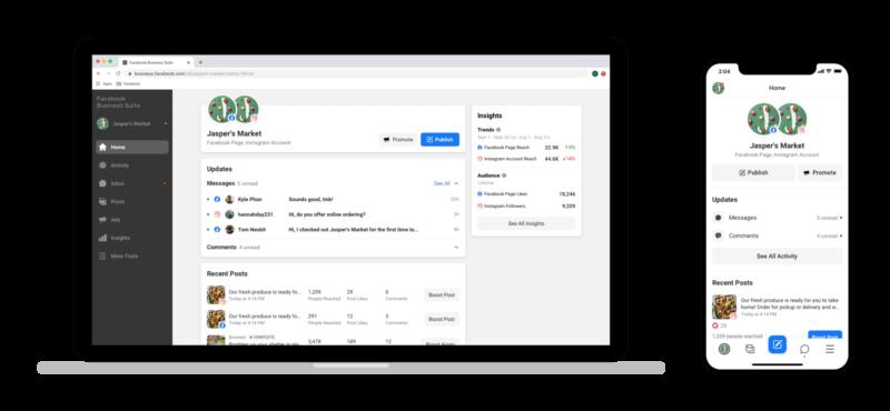 Facebook Business Suite: conheça a nova ferramenta unificada para gestão do Facebook e Instagram ➤ a Menina Digital, Marketing de Conteúdo, Mídias Digitais, Content Marketing, Social Media, Estratégias Online, Estratégias Digitais